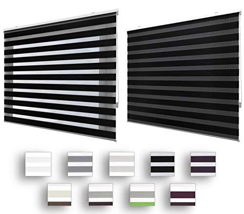 cortinas y estores negro