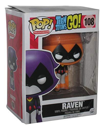 Funko 9508 - Figura Teen Titans Raven, Naranja