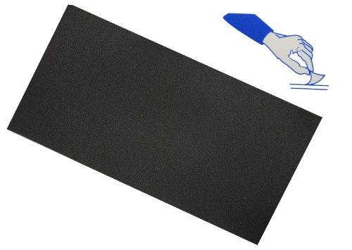 alles-meine.de GmbH Selbstklebender Reparatur Aufkleber Flicken - Nylon schwarz wasserabweisend Bekleidung Regenartikel