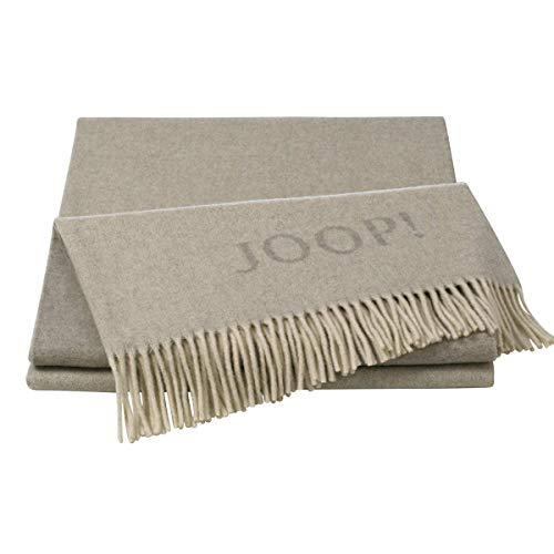 Joop! Plaid Fine Doubleface   Natur-Sand - 130 x 180 cm