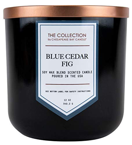 Chesapeake Bay Candle The Collection, Two-Wick Scented Candle, Blue Cedar Fig