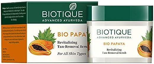 Biotique Bio Papaya Revitalizing Tan Removal Scrub, 75g