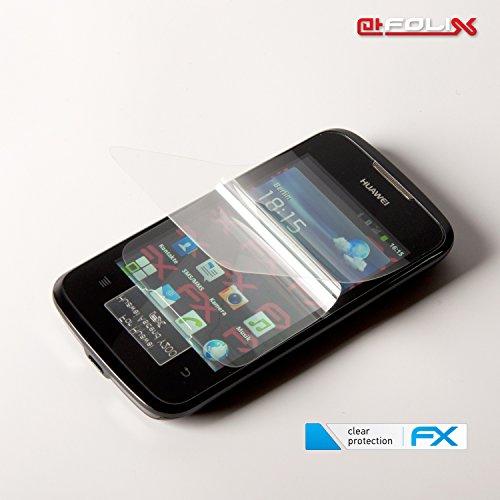 atFoliX Displayschutzfolie für Huawei Ascend Y200 (3 Stück) - FX-Clear: Displayschutz Folie kristallklar! Höchste Qualität - Made in Germany! - 6