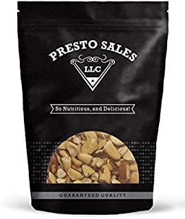 Brazil nuts, Raw Broken (2 lbs.) by Presto Sales LLC