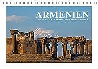 Armenien - Streifzuege durch die kaum bekannte Kaukasus-Republik (Tischkalender 2022 DIN A5 quer): Neben romantischen Hochmoorlandschaften zeigt der Kalender das reichhaltige kulturelle Erbe Armeniens in Form zahlreicher orthodoxer Kloester und Architekturen aus der Sowjet-Aera. (Monatskalender, 14 Seiten )