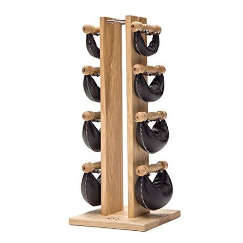 NOHrD Swing Tower Hantelturm, Eschenholz, 2, 4, 6, 8 kg
