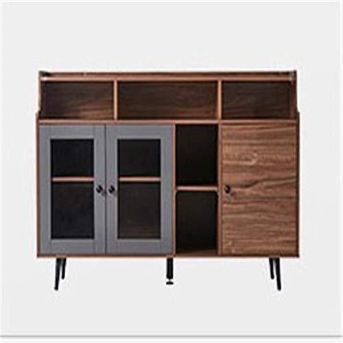 EXCLVEA Sideboard Nordic Minimalist Home Wohnzimmer Essbereich Kabinett Kleine Wohnung Lagerung Tee Schrank Küche...