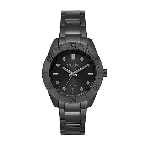 Reloj Chaps Bransen Diver para Hombres 42mm, pulsera de Acero Inoxidable