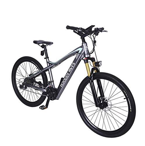 YZ-YUAN 27.5in 27 Vitesses Alliage d'aluminium Course VTT vélo Suspension complète VTT Vitesse Amortisseur Engrenages de Montagne Freins à Double Disque vélos de Route Cyclisme