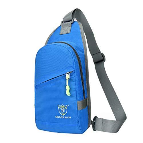 Sleeping forest Sling Bag for Men Lightweight Small Rucksack Sport Sling Backpacks...