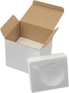 Gift Mug Box for 11oz. Mugs - Cardboard Box with Foam Supports Case of 45