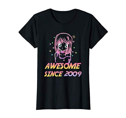 Cute Kawaii Anime 12th Birthday Gifts Girl 12 Years Old T-Shirt
