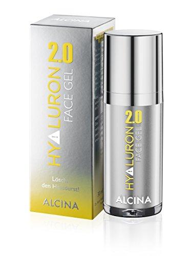ALCINA Hyaluron 2.0 Face Gel 1 x 30 ml - Feuchtigkeits-Gel mit Hyaluronsäure