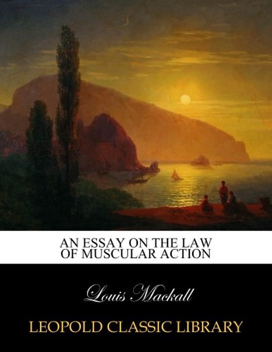 ほのか小売スコットランド人An essay on the law of muscular action
