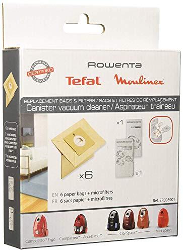 Rowenta ZR003901 6 filtri di carta + 1 microfiltro