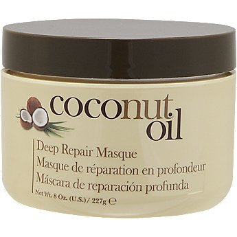 Hair Chemist Coconut Repair Masque, Hair Mask Deep Conditioning Hair Treatment, Helps Repair and Regrow Damaged Hair, Nourishes the Scalp and Revitalizes Hair, Safe For Color Treated Hair, 8 Ounce