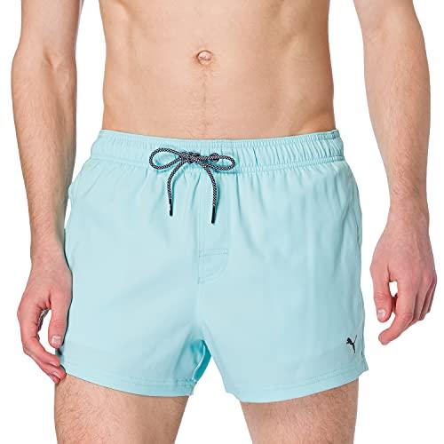 PUMA Men Short Length Swim Shorts Costume a Pantaloncino, Angel Blu, L Uomo