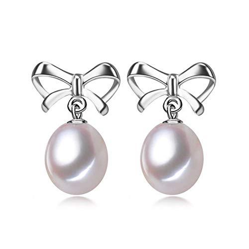 MNGGNM 925 Sterling Silver Butterfly Pearl Boucles d'oreilles Marque Bijoux Boucles d'oreilles pour Les Femmes Fille Fine Jewelry Alibaba Express