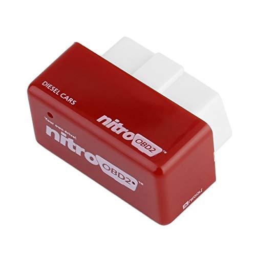 (Drive Nitro)OBD2 Chip Tuning Box for Benzine ECU 4 Colors Eco