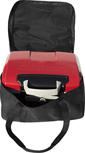 Carrying Case for Cuisinart CGG-180T Portable Tabletop Gas Grill - Weather Resistant, Heavy Duty Zipper and Reinforced Handles {Petit Gourmet Grill Cover/Tote Bag}