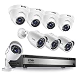 Best 16 Channel Dvrs - ZOSI H.265+ 1080p 16 Channel Security Camera System Review