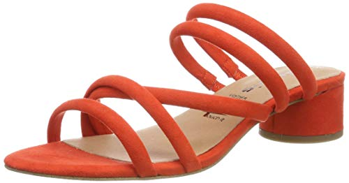 Tamaris Damen 1-1-27237-32 Pantoletten, Orange (Orange 606), 38 EU