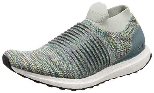 adidas Ultraboost Laceless, Zapatillas de Entrenamiento Hombre, Gris (Ashsil/Ashsil/Cblack Ashsil/Ashsil/Cblack), 42 EU