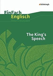 The King's Speech: Filmanalyse: EinFach Englisch Unterrichtsmodelle