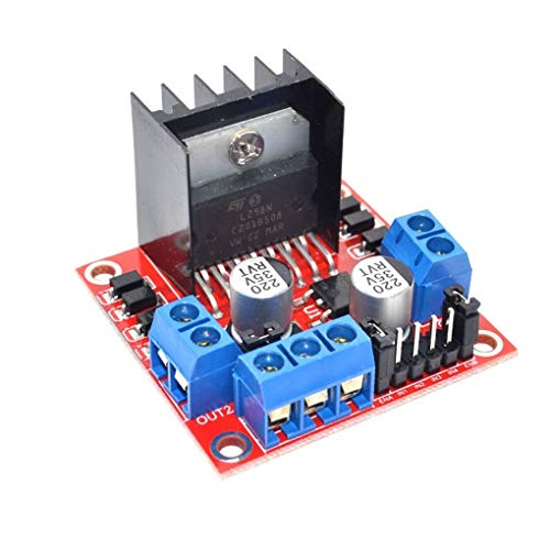 Topker Stepper Motor Drive Controller Board Module L298N Dual H Bridge DC Replacement for Arduino