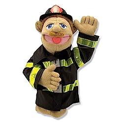 fireman puppet