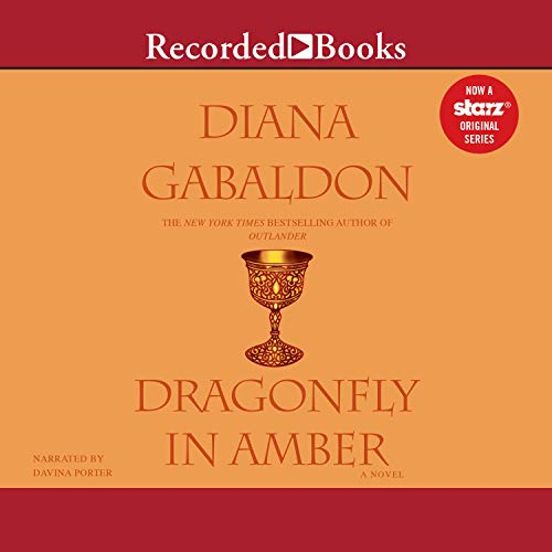 Dragonfly in Amber audiobook cover art
