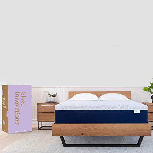 Sleep Innovations Shiloh 14-inch Memory Foam Mattress, Queen, White