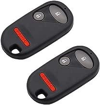 Drivestar Keyless Entry Remote Car Key FobReplacement fits Honda Civic EX LX DX 2001 2002 2003 2004 2005 Honda Pilot 2003 2004 2005 2006 2007 Replacement for NHVWB1U521, NHVWB1U523, Set of 2