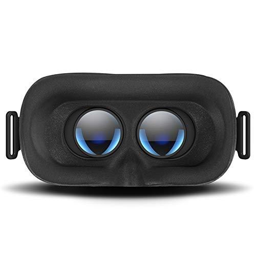 DESTEK V5 VR Brille, 110°FOV, HD Virtual Reality mit Bluetooth Fernbedienung für iPhone 11/Pro/X/Xs/Max/XR/8P/7P/6S P, Samsung S20/S10/S9/S8/Note 10/9/8/Plus, huawei P20/P30, Telefone mit 5,5-6,8 Zoll