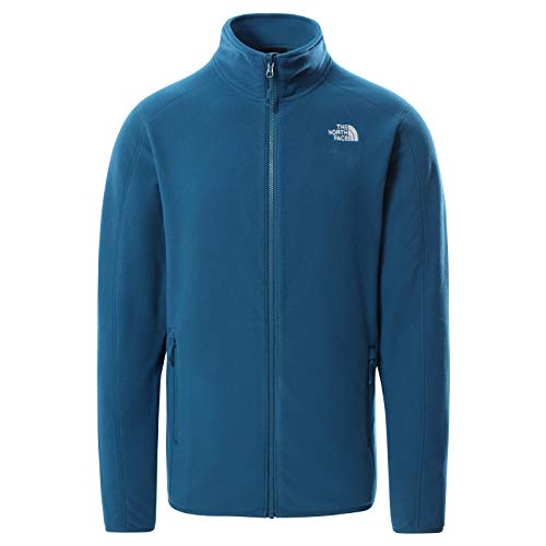 The North Face Men's Resolve Fleece Full-Zip Jacket, Moroccan Blue, XL