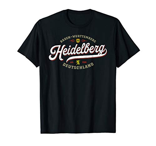 Heidelberg Germany - Vintage Retro Heidelberg Deutschland T-Shirt