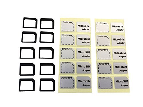 APNSIM『NanoSIM 変換アダプター 10個セット』