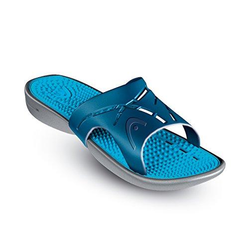 HEAD Unisex-Erwachsene Sandal Chrono Massage Flip-Flops, Azul (BL), 44 EU