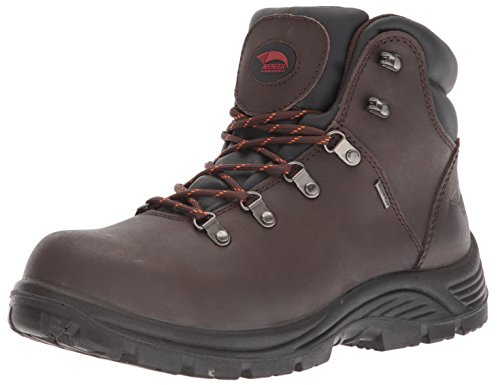 Waterproof Zip Side High-Leg Safety Boot Size 05 Brown V12 Rocky