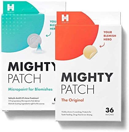 Mighty Patch Original 36ct and Micropoint for Blemishes Bundle product image