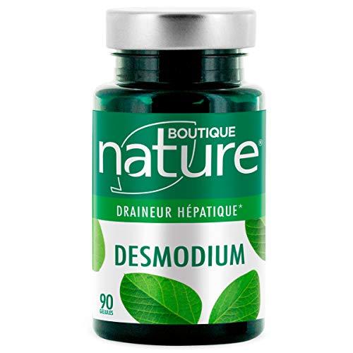 Boutique Nature - Complément Alimentaire - Desmodium - 90 Gélules Végétales - Bon fonctionnement hépatique