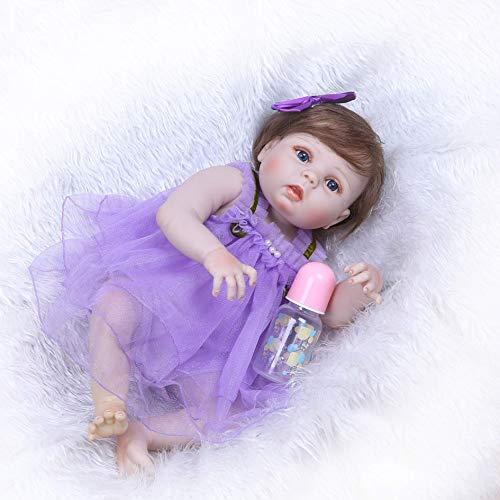 FACAIA Rebirth Doll, Juguetes para niños Reborn Girl Baby Dolls Realista de Silicona Suave Vinilo Reborn Toddler Baby Doll Realistic Reborn Babies Dolls