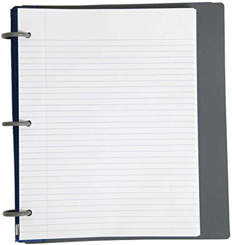 Five Star Flex Hybrid NoteBinder, 1 Inch Binder with Tabs, Notebook and 3 Ring Binder All-in-One, Purple (72522) Photo #3