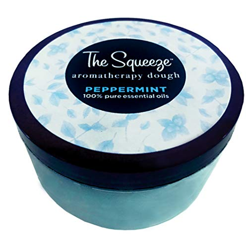 The Squeeze Aromatherapy Therapy Dough Stress Ball Made 100% Peppermint Essential Oils