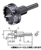 大見工業 ビニール用ホールカッター 刃径:59mm B59