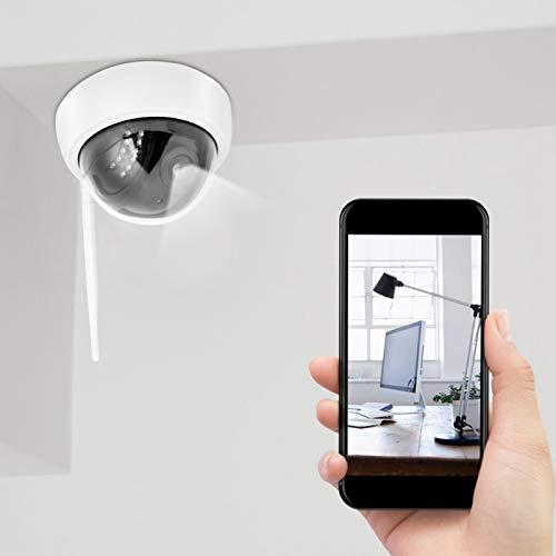 Gatuxe Mini cámara, cámara de Seguridad de Alarma Inteligente remota WiFi para teléfono, para grabación de monitoreo de Video(European regulations, Transl)