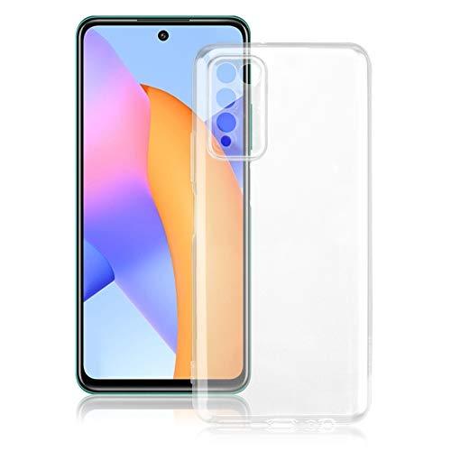 ROVLAK Custodia per Honor 10X Lite Case Trasparente con Funzione Anti-Ingiallimento Cover Slim TPU Silicone+Custodia Resistente per Honor 10X Lite Smartphone Case