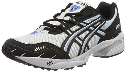 Asics GEL 1090, Running Shoe Mens, Blanc Noir, 44.5 EU