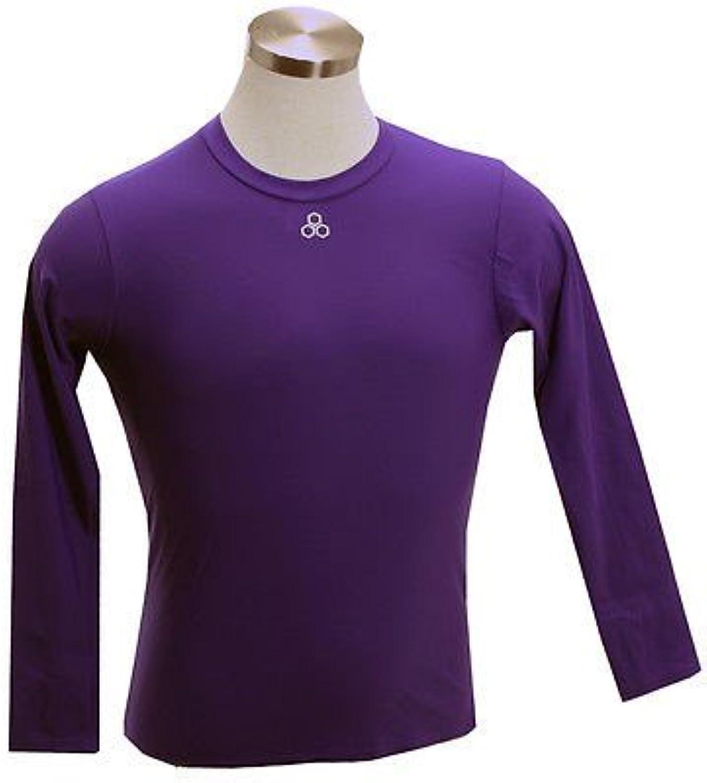 McDavid 884t Long Sleeve Compression Shirt lilat Medium [Misc.]