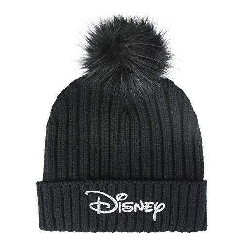   Disney   Chapeau Unisexe pour Filles Et Garçons   Conception Tricotée De Haute Qualité   Bonnet Confortable d'hiver pour Enfants   Bonnet à Pompon   Cadeau Parfait!  